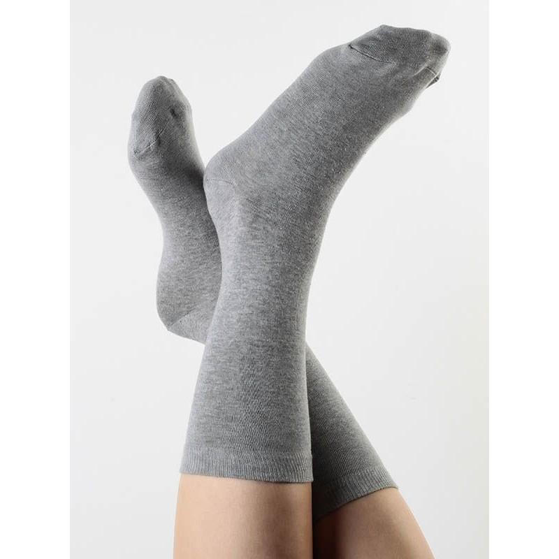 ALBERO Socken grau
