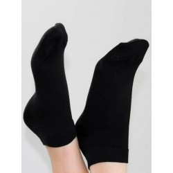 ALBERO Sockchen schwarz