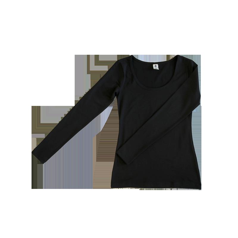 ALBERO Longsleeve shirt  black