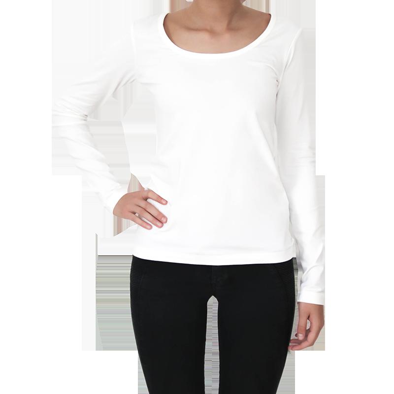 ALBERO Longsleeve shirt  off-white