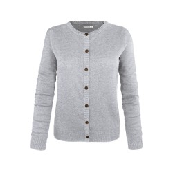 Melawear Woman's Cardigan Grey melange