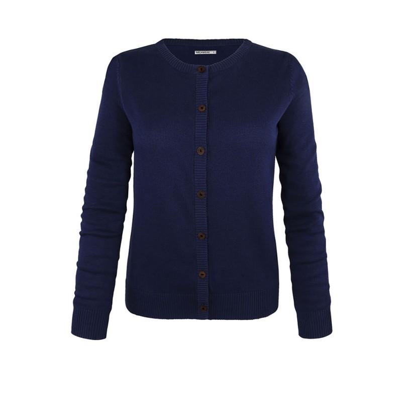 Melawear Woman's Cardigan Blue