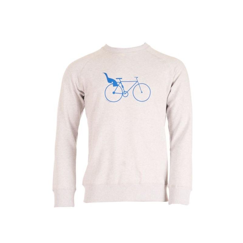 Munoman Sweater Bob Dadbike grey melange