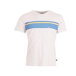 Munoman Shirt Tito Stripes grey melange