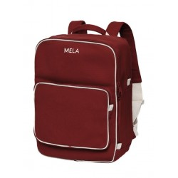 Melawear Backpack MELA II burgundy red