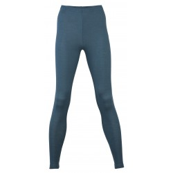 Engel Ladies' Leggings, fine Rib Atlantik