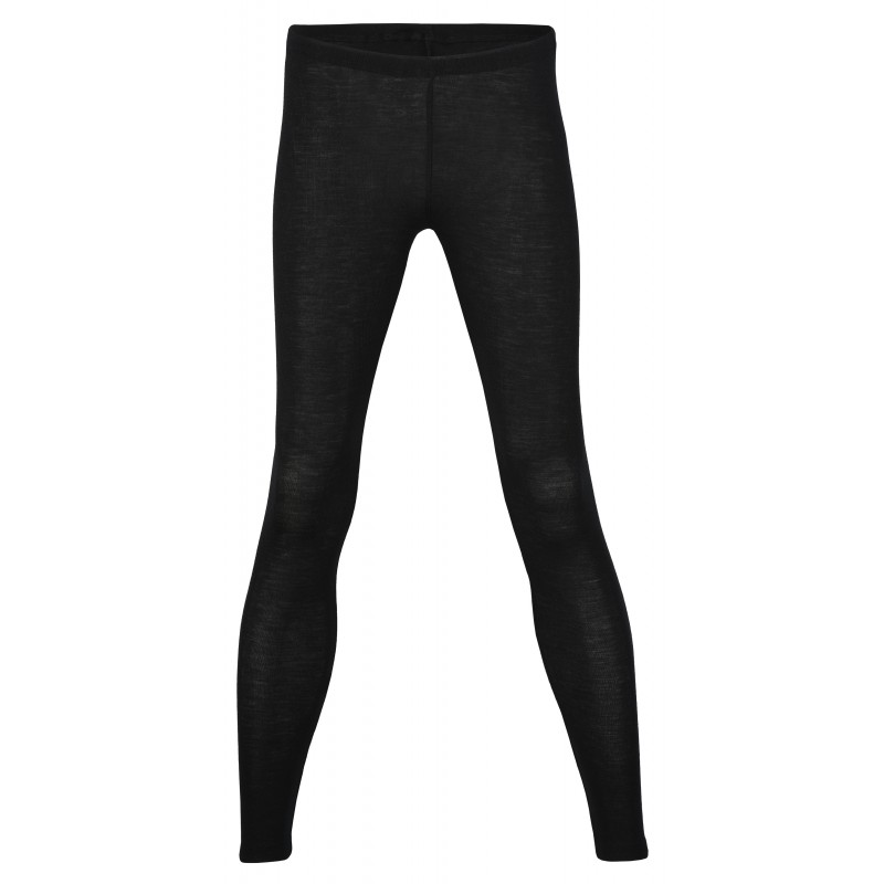 Engel Ladies' Leggings, fine Rib Black