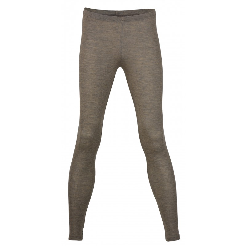 Engel Ladies' Leggings, fine Rib Walnut