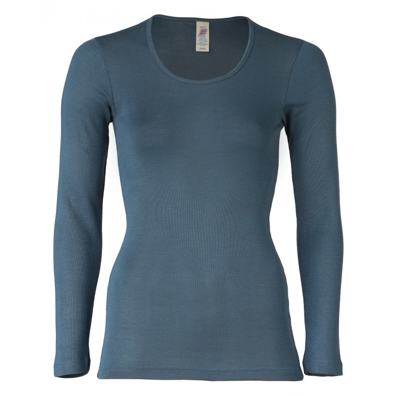 Engel Ladies' Shirt Long Sleeved  Atlantik