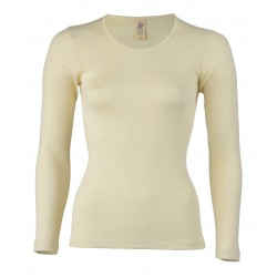 Engel Ladies' Shirt, Long Sleeved Natural