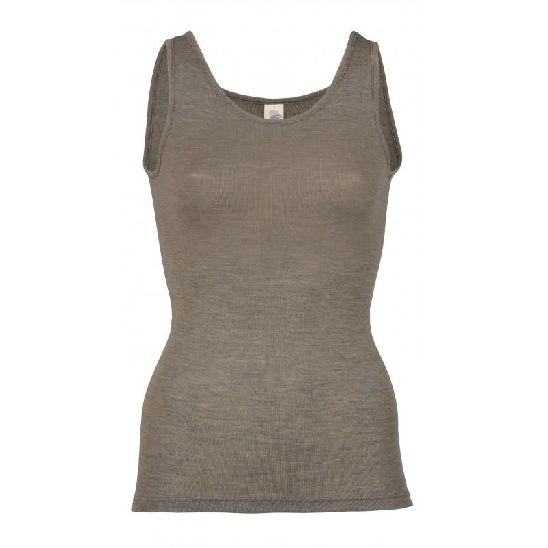 Engel Ladies' Sleeveless Shirt Walnut