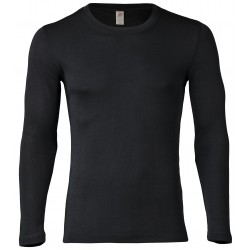 Engel Men's Shirt Long Sleeved black