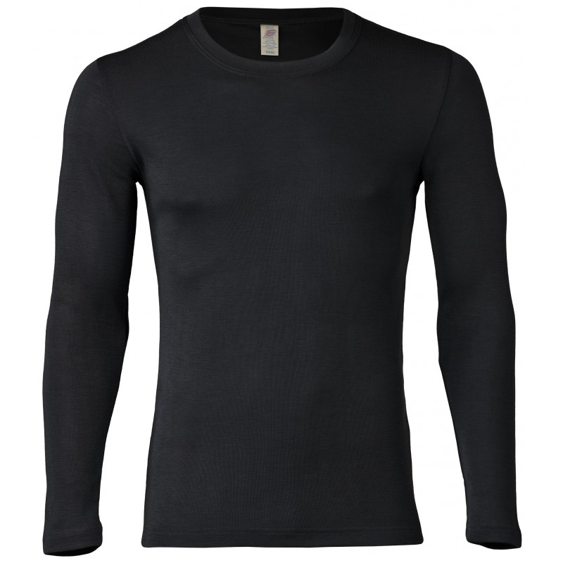 Engel Men's Shirt Long Sleeved black