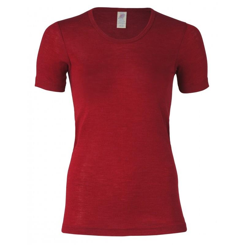 Engel Shirt Short Sleeved, fine rib Malve