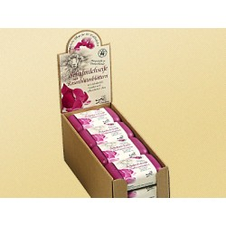 Saling Sheep Milk Soap with rose petals pink