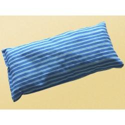 Saling Kirschkernkissen 20x10cm stripes blue/turquoise