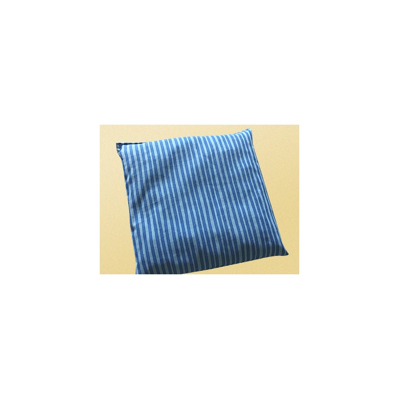 Saling Kirschkernkissen 20x20cm stripes blue/turquoise