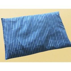 Saling Kirschkernkissen 20x30cm stripes blue/turquoise