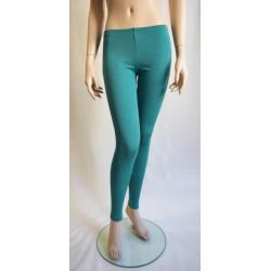 Engel Ladies' Leggings, fine Rib Ice Blue