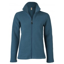 Engel Ladies Jacket with Zip atlantik melange