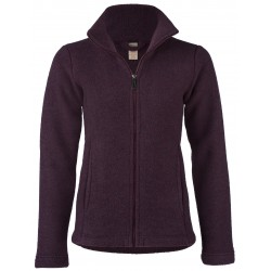 Engel Ladies Jacket waisted with Zip Lilac melange