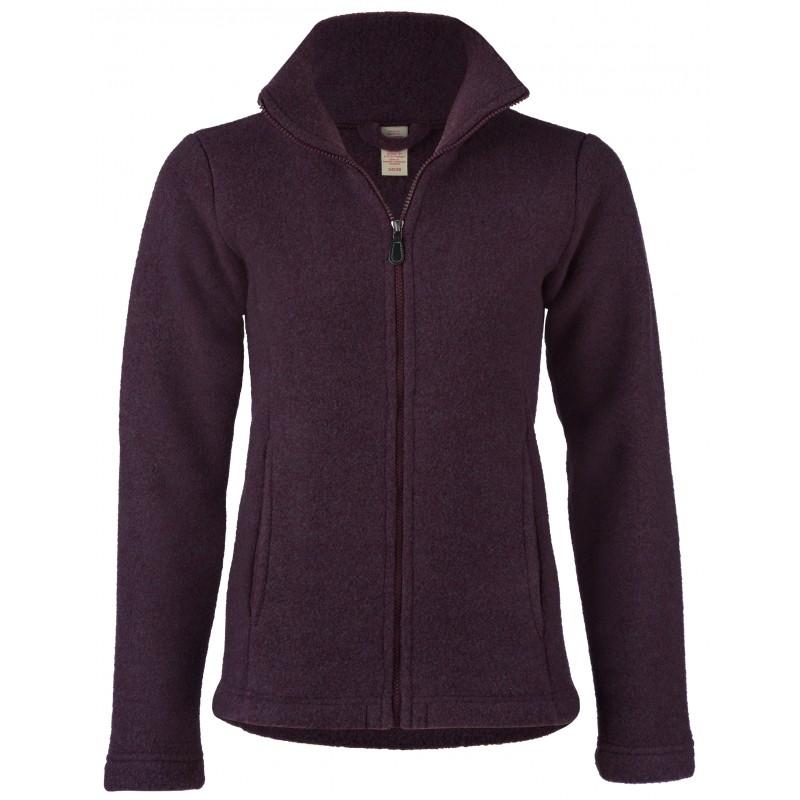 Engel Ladies Jacket waisted with Zip Lilac melange