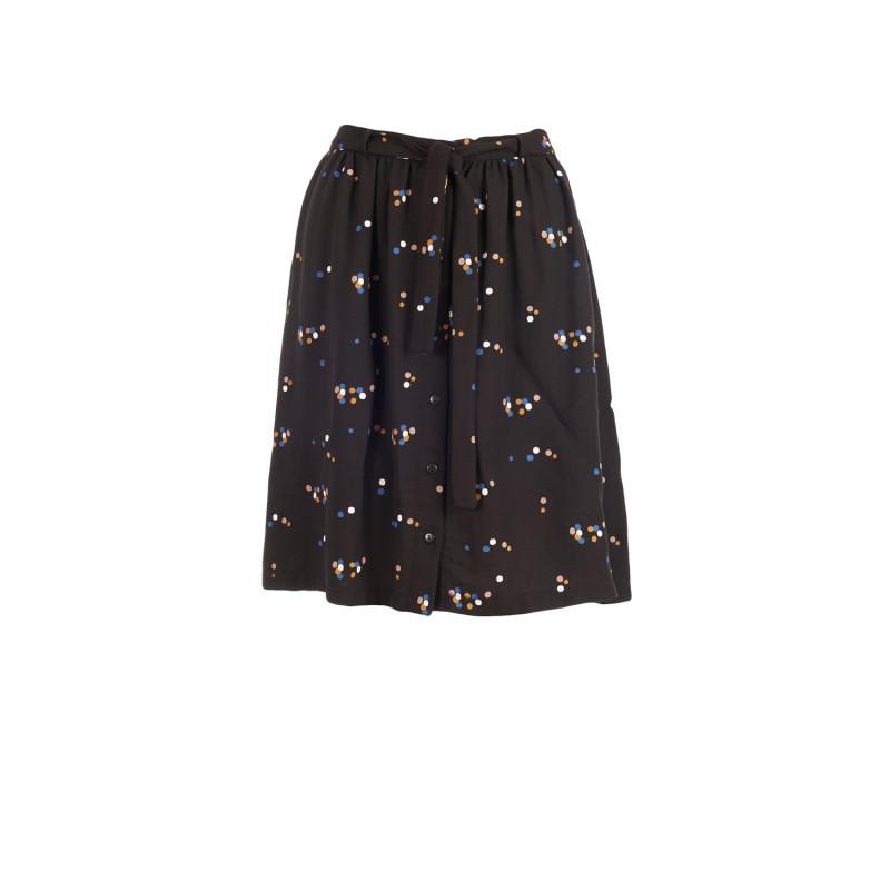 Froy en Dind Skirt Carla Dots Black