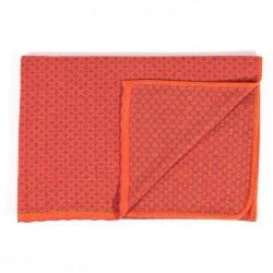 Flomax Decke Tilde mango/himbeer