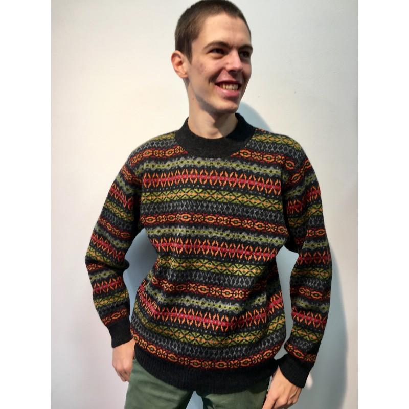 Flomax Pullover Tom gewitter/bunt