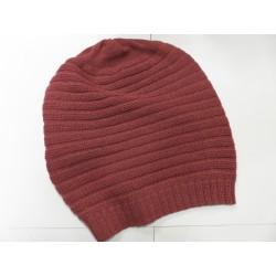 De Colores Mütze 100% Alpaka altrosa