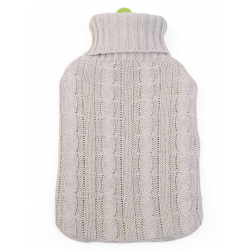 Grün Specht Organic Hot Water Bottle with Cover 2L