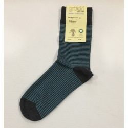 Grödo Dames/heren sok met 2 kleuren Catrame/Gletcher