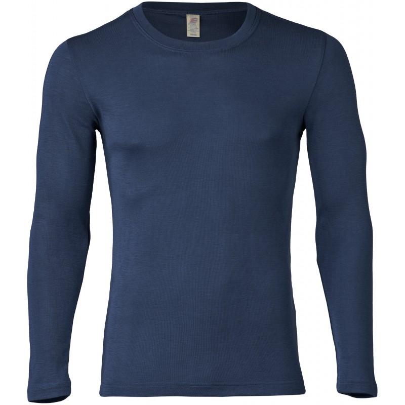 Engel Men's Shirt Long Sleeved Marine