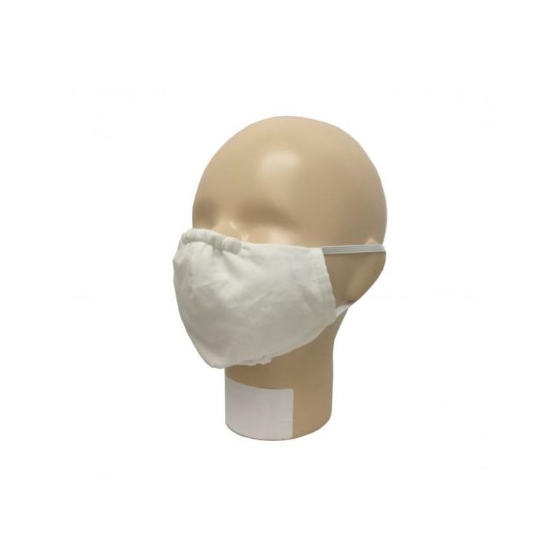 Popolini Mouth-Nose Mask Popeline Organic écru