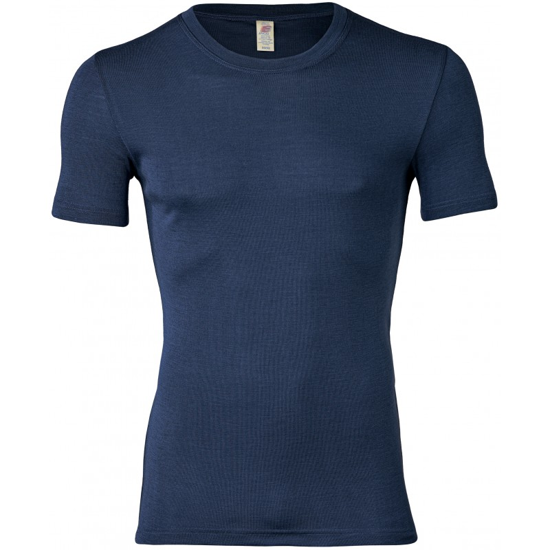Engel Men's Shirt Short Sleeved Marine