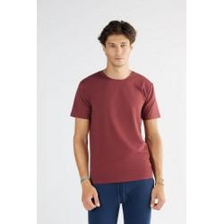 ALBERO Herren T-Shirt bordeaux