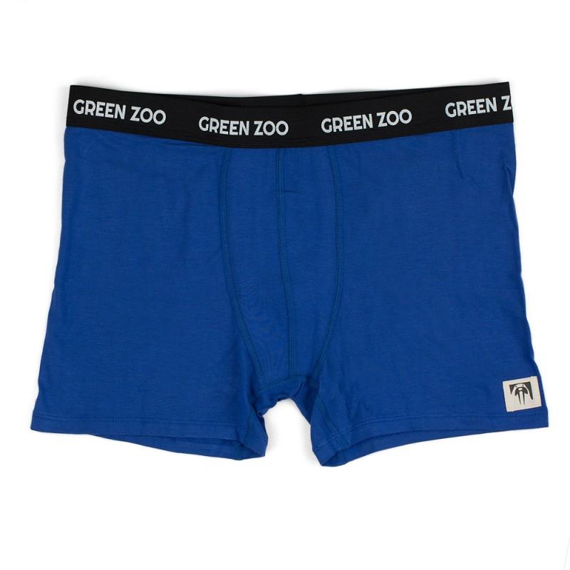 Green Zoo Men's Boxer Shorts Adam hip blue
