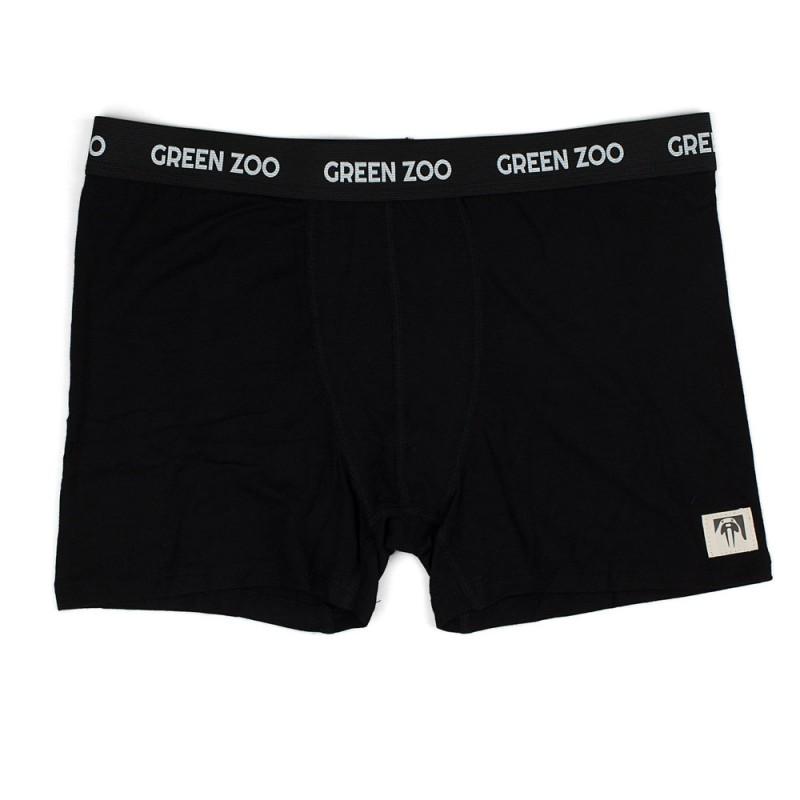 Green Zoo Men's Boxer Shorts Adam black