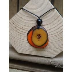 La Tagua Vivi oranje-bruin-boom Tagua