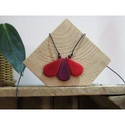 La Tagua Lilia  rood/paars