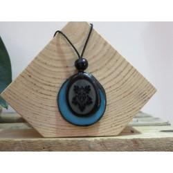 La Tagua Bloem blauw-donkerblauw