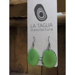 La Tagua Carlaret groen  silber 925