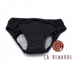 La Renarde Culotte Menstruelle  Noir