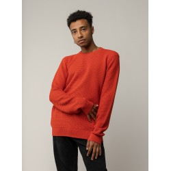 Melawear Magesh Men's Knit Jumper tomato