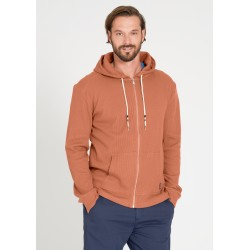 Recolution Casual Sweatjacket Waffle summer orange