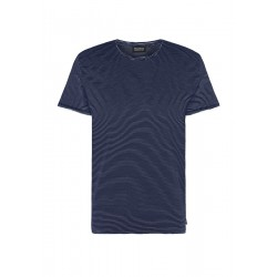 Recolution Casual T-Shirt navy-white