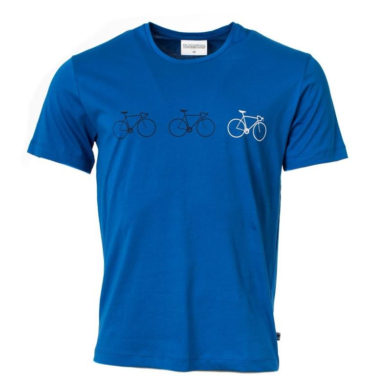 Munoman T-shirt Tito trio blue