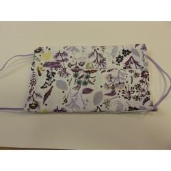 't Collectief Mondmasker bio lila bloem