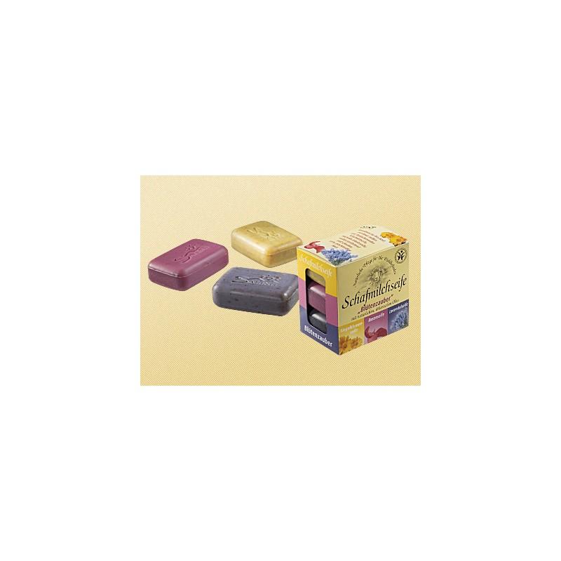 Saling Geschenkverpakking 3 zeepjes Lavender