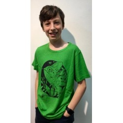 Up-Rise Jungle Cameleon  Men Tee Pring spring green